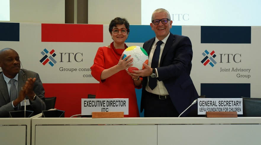 Kick for Trade: UEFA Foundation and the International Trade Centre team up to support social inclusion for youth