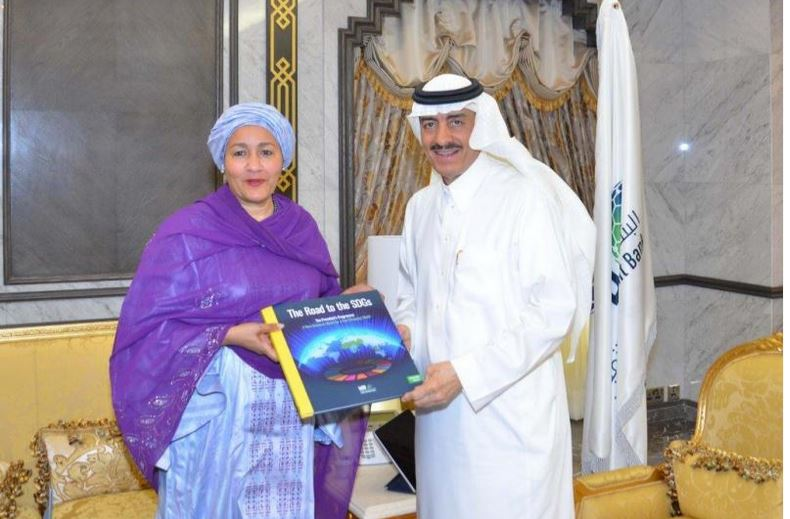 IsDB President Welcomes UN Partnership in the Implementation of SDGs